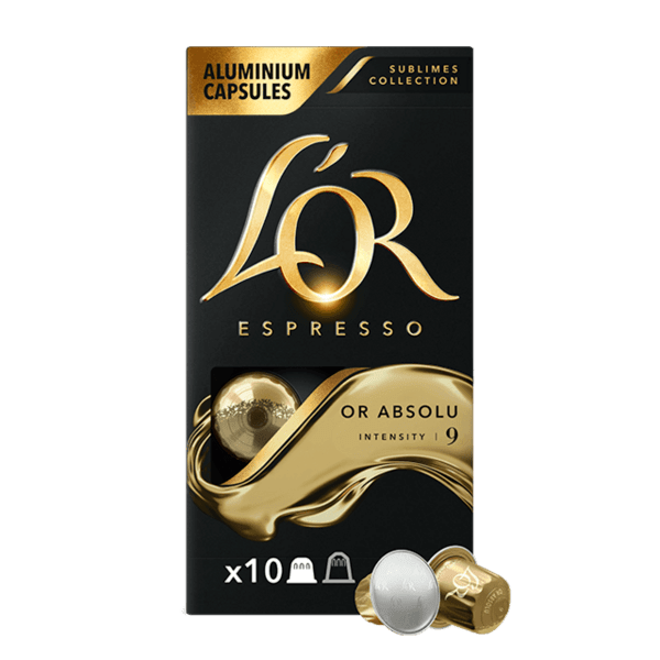 L'or Epsresso OR ABSOLU - 10 бр. Nespresso® съвместими капсули