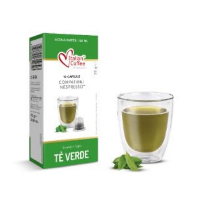 Зелен чай Italian Coffee - 10 Nespresso® съвместими капсули