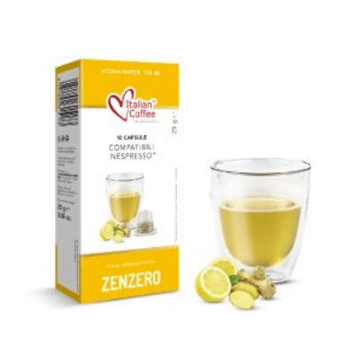 Чай джинджифил и лимон Italian Coffee  - 10 Nespresso® съвместими капсули