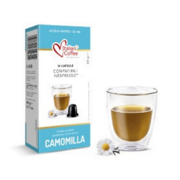 Чай лайка Italian Coffee - 10 Nespresso® съвместими капсули