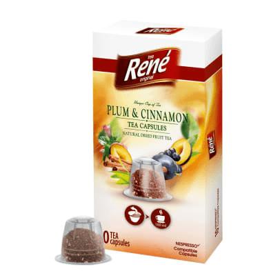 René Plum & Cinnamon - 10 Nespresso® съвместими капсули