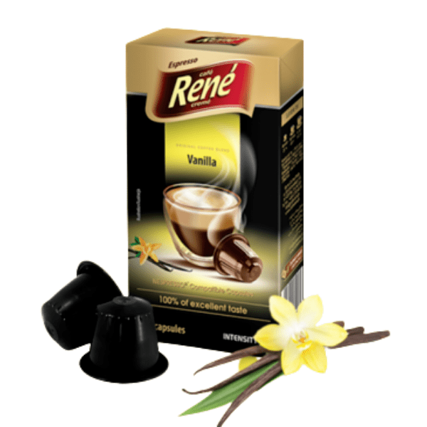 Rene Vanilla - 10 броя Nespresso® съвместими капсули
