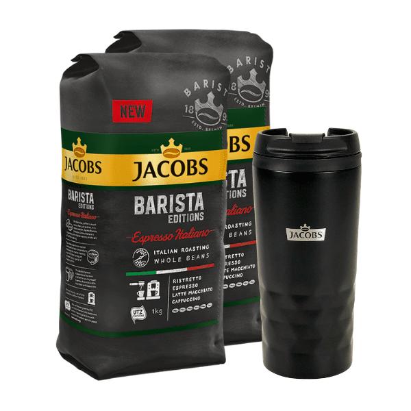 Barista Editions Espresso Italiano 2х1 кг. + подарък чаша