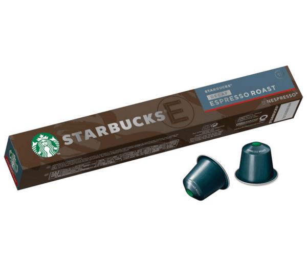 Starbucks® Decaf Espresso Roast by Nesspresso® - 10 капсули