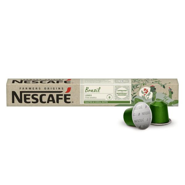 Nescafé® Farmers Origins BRAZIL Lungo - капсули за Nespresso® машини
