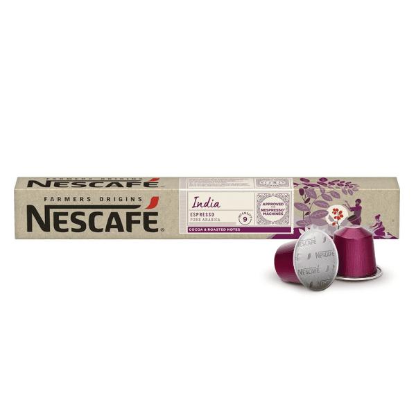 Nescafé® Farmers Origins INDIA Espresso - капсули за Nespresso® машини