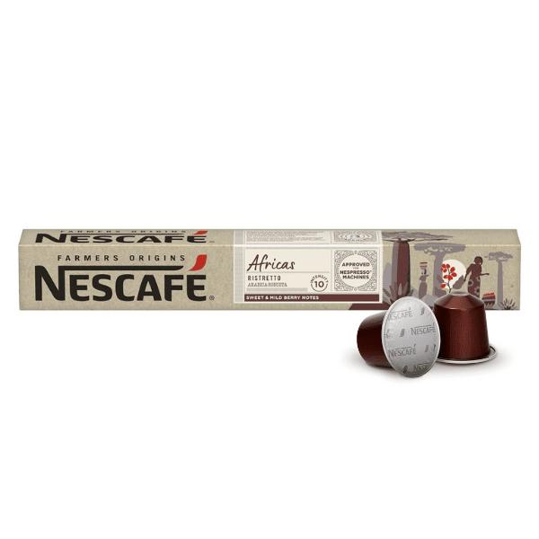Nescafé® Farmers Origins AFRICAS Ristretto - капсули за Nespresso® машини