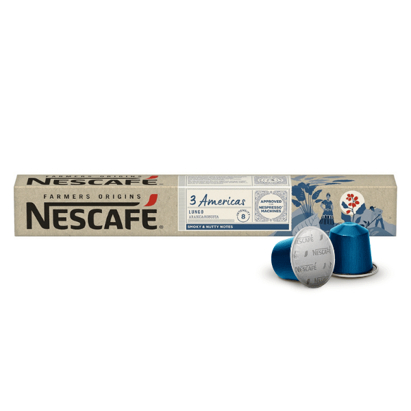 Nescafé® Farmers Origins 3 AMERICAS Lungo - капсули за Nespresso® машини
