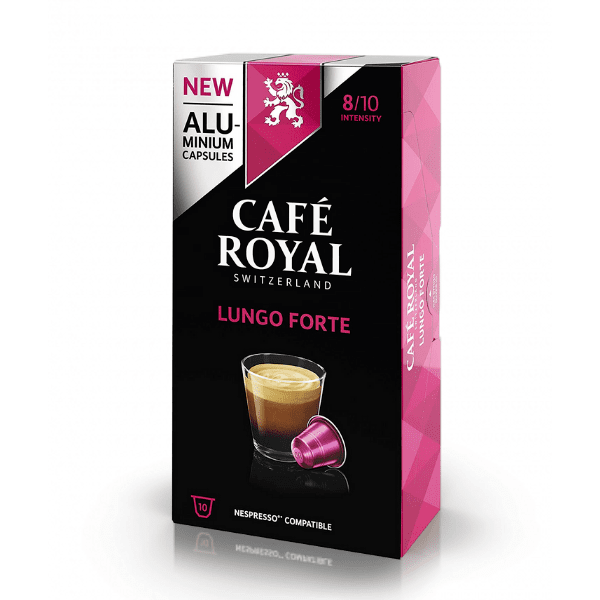 Cafe Royal Lungo Forte - 10 Nespresso® съвместими капсули