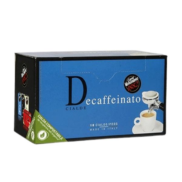 Caffè Vergnano Decaffeinato - 18 дози
