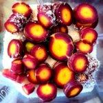 Пурпурни моркови, връзка