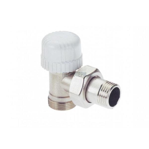 """Вентил  - радиаторен за терморегулатор - 1/2"""" за адаптор ф16 мм, ъглов"""