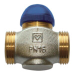 Термостатичен вентил с обратно действие, kvs 2.81, DN15
