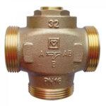 TEPLOMIX трипътен вентил термостатичен, регулиращ, kvs 11, DN25