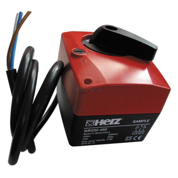 Задвижка за 2-пътен регулиращ сферичен кран, 230 V, 2 Pkt., 10 Nm, 140 sec