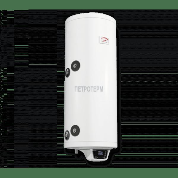 Комбиниран бойлер 80 л, с електронно управление, Ниска серпентина, емайлиран
