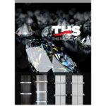 """Алуминиева лира бяла, металик и черна с вграден нагревател - ЕЛЕКТРИЧЕСКА серия  """"SOFIA"""" THERMOSTYLE"""