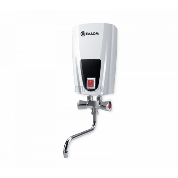 Проточен бойлер за кухня - ЕЛДОМ с метална батерия 3,5 Kw
