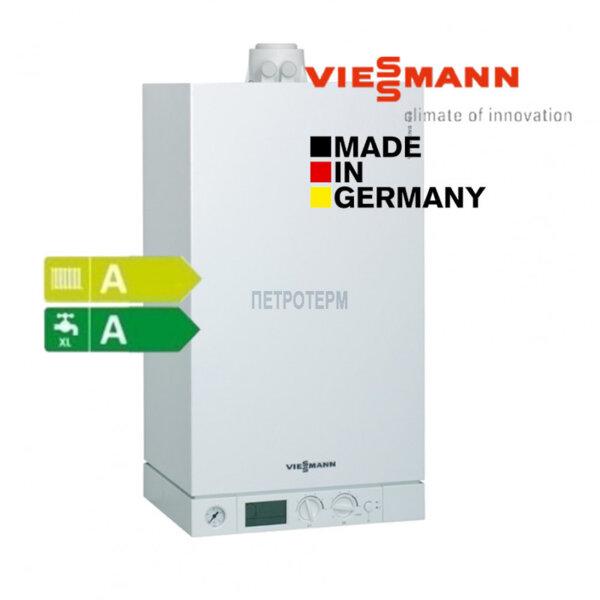 Viessmann Vitodens 100-W двуконтурен, кондензен газов котел