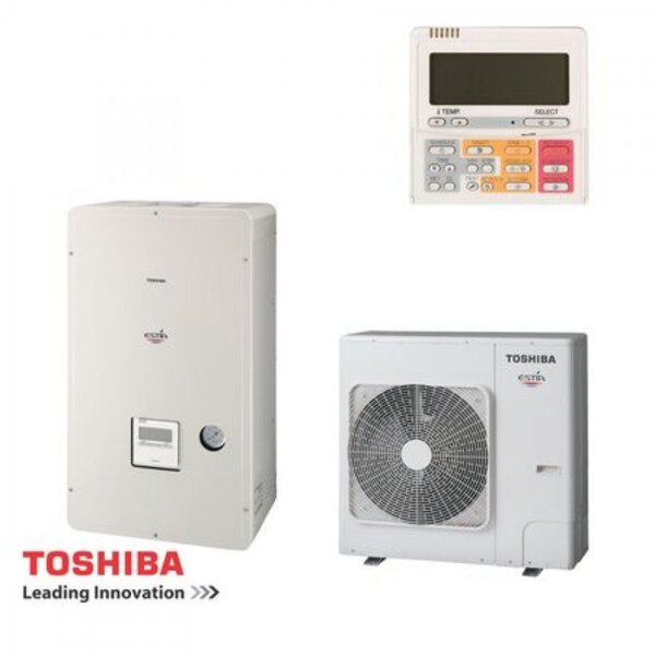 TOSHIBA ТЕРМОПОМПА, СЕРИЯ ESTIA HWS-455 (6.83KW)
