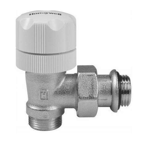 Термостатен вентил - Honeywell за свръзка ф16 (ъглов)