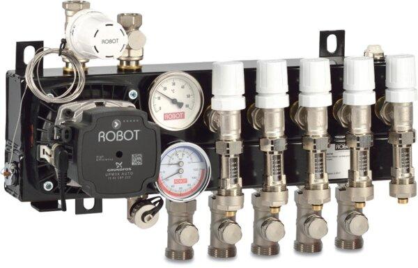 GRUNDFOS  ROBOT - Колектор за подово отопление