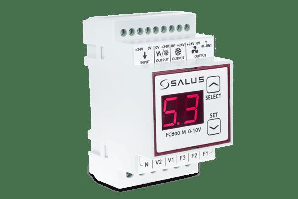 SALUS FC600-M_0-10V - Модул за вентилатори с двигател EC