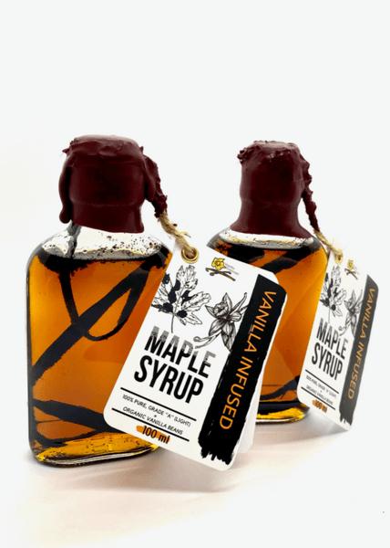 Кленов сироп с ванилия 100 мл. - Maple syrup Vanilla 100 ml