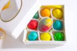 Кутия 9бр великденски шоколадови яйца