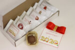 Коледен подарък / Кутия трюфели 6бр с фирмено лого