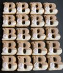 Позлатена бебешка рамка за снимки с камъни SWAROVSKI