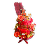 Декораторска торта Мулен руж