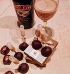 Шоколадов бонбон с алкохолна капсула Бейлис