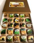 Луксозна кутия ръчно моделирани сладки за Фермер