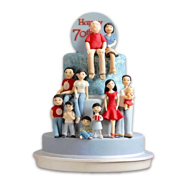 Торта моето семейство