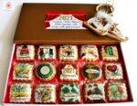 Луксозна кутия Коледни бонбони 12 броя