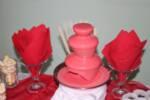 Шоколадов фонтан с млечен шоколад  / под наем
