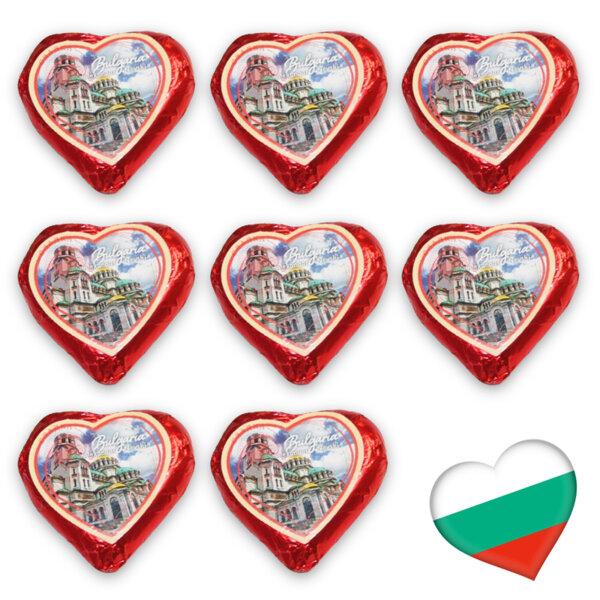 Шоколадово сърце Сладка България