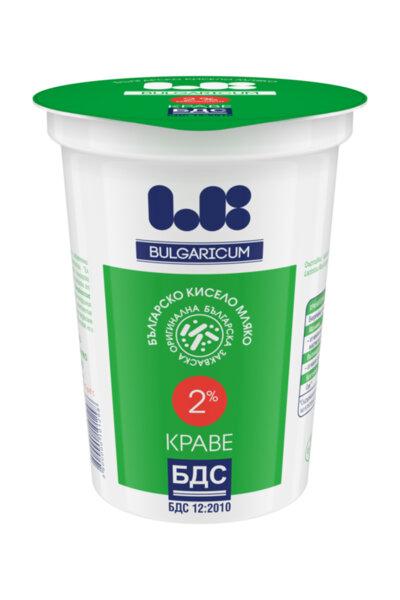 LB Bulgaricum кисело мляко по БДС 2%