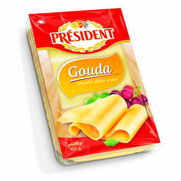 President сирене гауда слайс