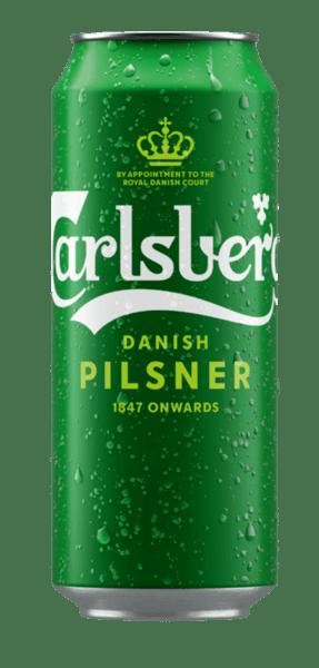 Carlsber бира кен