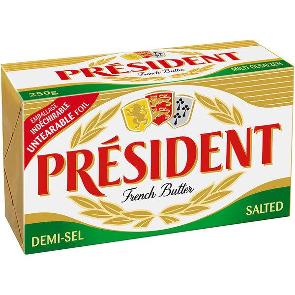 President краве масло със сол 80%