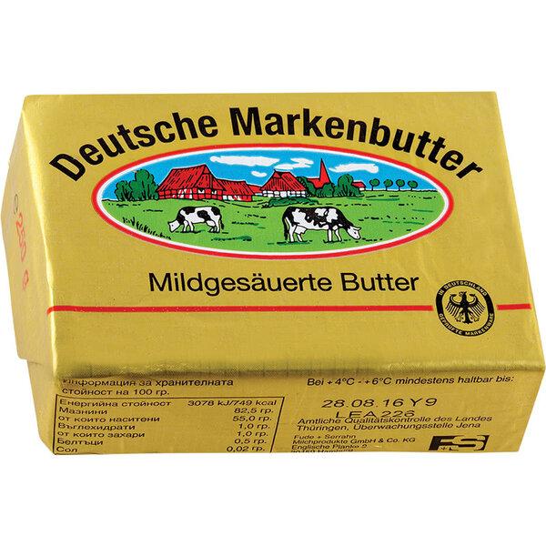 Deutsche Markenbutter краве масло двете крави