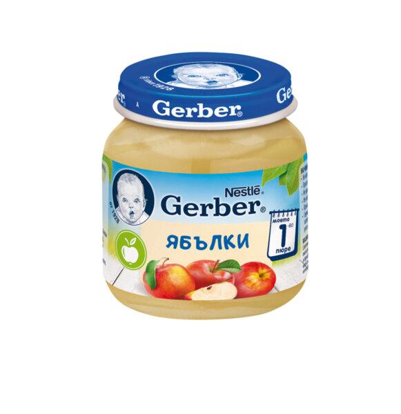 Gerber пюре от ябълки моето първо пюре