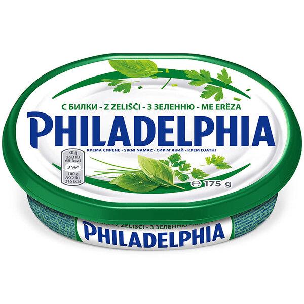 Philadelphia крема сирене с билки