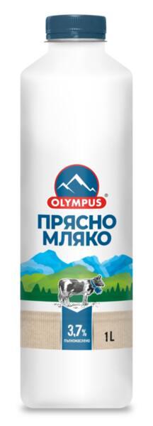 Olympus прясно мляко 3.7% (1 л)