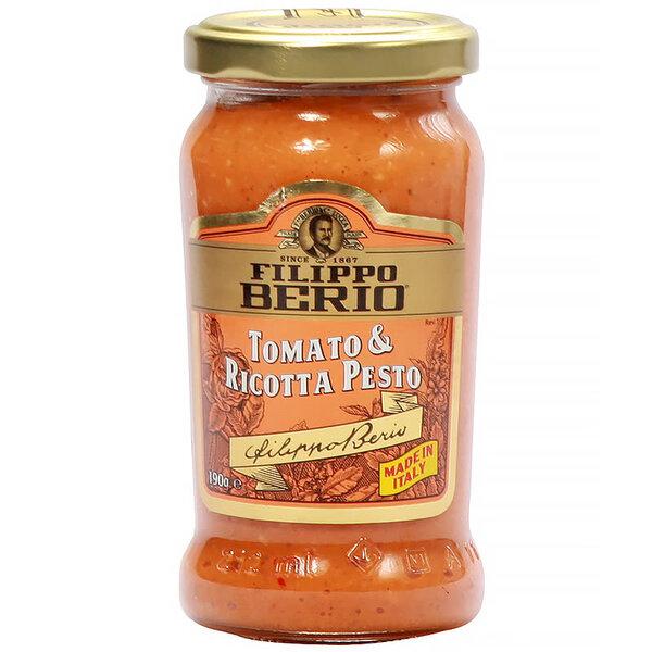 Filippo Berio песто с домати и рикота