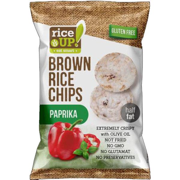 Rice Up мини оризов чипс с паприка