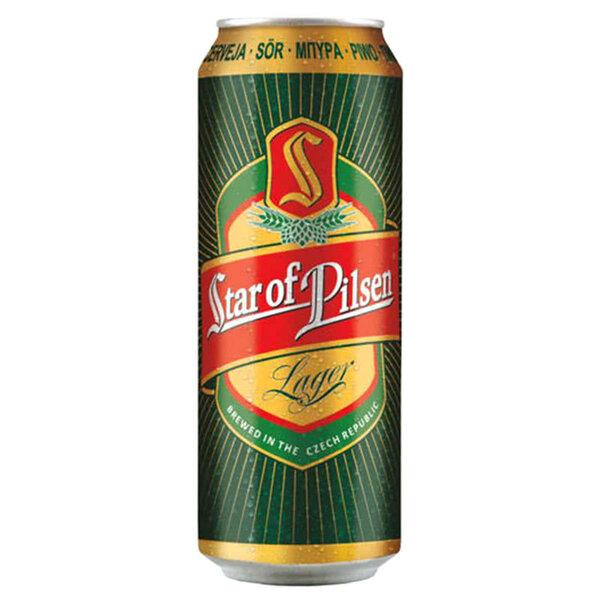 Star Of Pilsen бира в кен