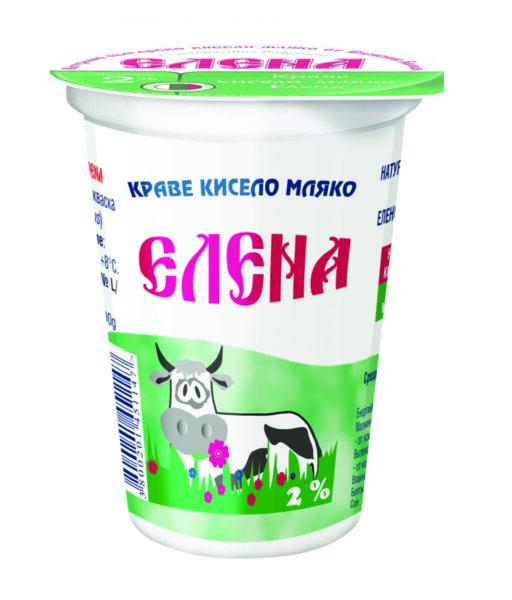 Елена кисело мляко 2%